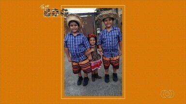 Conheça os telespectadores do Bom Dia Goiás - Mande a nós sua foto ou vídeo por meio do QVT ou redes sociais.