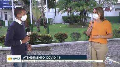 Semusa fala do combate à covid-19 em Porto Velho - Secretária de saúde do município falou da compra de medicamentos e dos leitos disponíveis.