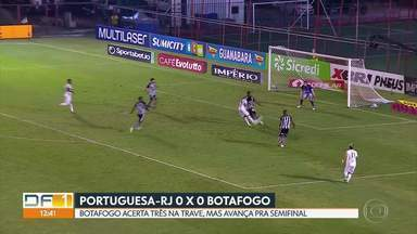 GE no DF1: os gols do Campeonato Carioca - Esporte destaca vitória do Flamengo, empate do Botafogo e jogos de hoje de Fluminense e Vasco pela última rodada da fase de grupos da Taça Rio.