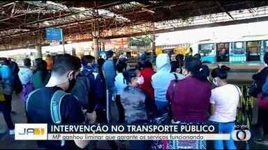 Justiça determina empresas do transporte coletivo apresentem melhorias para evitar colapso - Decisão foi dada após ação do Ministério Público.