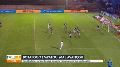 Botafogo empata sem gols com a Portuguesa-RJ e se classifica no Carioca - Botafogo empata sem gols com a Portuguesa-RJ e se classifica no Carioca