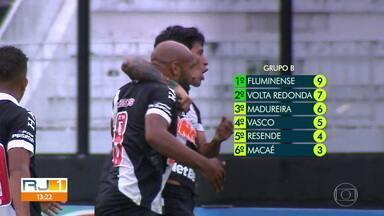Em situações diferentes na tabela, Vasco e Fluminense fecham rodada do Carioca nesta quinta - Em situações diferentes na tabela, Vasco e Fluminense fecham rodada do Carioca nesta quinta