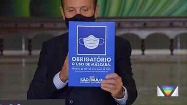 São Paulo começa a multar pessoas que não usarem máscara - São José adota medidas educativas antes da aplicação das multas