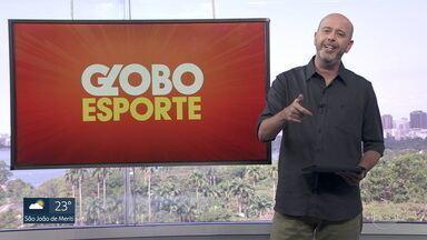 Veja o bloco do Globo Esporte no RJ1 de quinta-feira, 02/07/2020 - Veja o bloco do Globo Esporte no RJ1 de quinta-feira, 02/07/2020