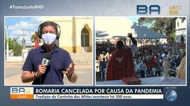 Evento religioso que acontece há mais de 300 anos é cancelado por causa da pandemia - Saiba mais detalhes a Romaria do Cantinho, realizada na zona rural de Barreiras.
