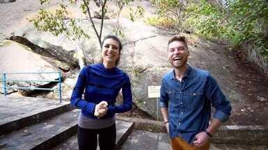 Assista ao reprise do terceiro episódio da 1ª temp. na íntegra - A atriz Anajú Dorigon e o ex-trio Villa Baggage encaram os desafios do Trilhas da Aventura Famosos!