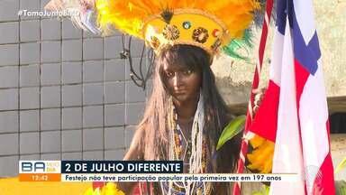 Independência do Brasil na Bahia é celebrada com ato simbólico e programação virtual - A data cívica é comemorada nesta quarta-feira, 2 de julho.