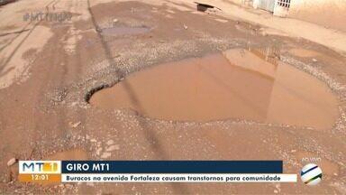Moradores do Santa Laura reclamam dos buracos nas ruas - Moradores do Santa Laura reclamam dos buracos nas ruas.