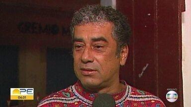 Artista plástico Zé Som morre aos 69 anos - Ele estava internado no Imip e a família não quis divulgar a causa da morte.