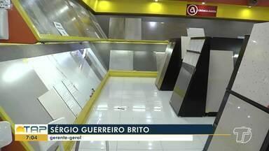 Em Santarém, mercado de materiais de construção mostra sinais de recuperação gradativa - Também prejudicado por conta da pandemia do novo coronavírus, setor se viu em dificuldades.