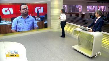 Gioras Xerez traz os destaques do G1 desta sexta-feira (3) - Saiba mais em g1.com.br/ce