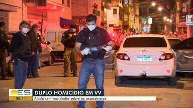 Polícia procura suspeitos de assassinar homem e mulher dentro de carro em Vila Velha, ES - Duplo homicídio aconteceu no bairro Boa Vista. Um casa, que também estava dentro do carro, conseguiu escapar dos criminosos. Ninguém foi preso até o momento.