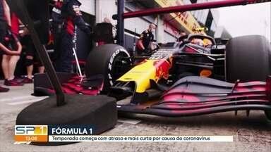 Temporada 2020 da Fórmula 1 começa com atraso e terá menos provas - Temporada 2020 da Fórmula 1 começa com atraso e terá menos provas