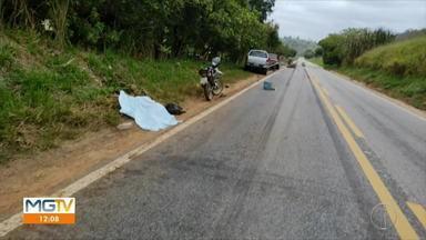 Motociclista morre em batida na BR-259, em Resplendor - Vítima tinha 35 anos e era natural de Conselheiro Pena.