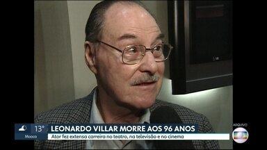 Morre o ator Leonardo Villar - Ele teve uma parada cardíaca aos 96 anos