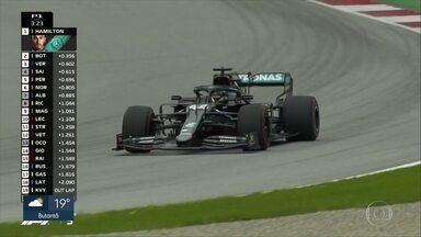 Bottas conquista primeira pole position da temporada de Fórmula 1 - Bottas conquista primeira pole position da temporada de Fórmula 1