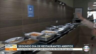 Movimento de clientes ainda é fraco nos restaurantes abertos na capital - E sem restaurantes, muitas pessoas tiveram que mudar os hábitos alimentares.