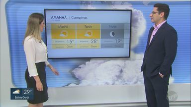 Previsão do tempo para a região Campinas é de sol predominante nesta terça (7) - Segundo meteorologistas, intensidade dos ventos na região deve aumentar até quinta-feira (9).