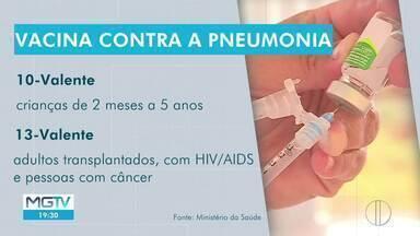 Médicos alertam para importância da vacinação contra pneumonia - Casos aumentam no inverno e pandemia exige ainda mais atenção.