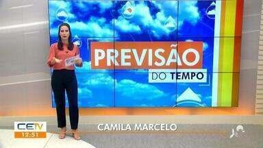 A previsão do tempo com Camila Marcelo - Saiba mais no g1.com.br/ce