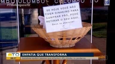 Iniciativas de solidariedade têm sido recorrentes em Palmas durante a pandemia - Iniciativas de solidariedade têm sido recorrentes em Palmas durante a pandemia