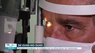 Dia mundial da saúde ocular é comemorado nesta sexta-feira - Segundo o Instituto Brasileiro de Geografia e Estatística, quase 19% dos brasileiros possuem algum tipo de deficiência visual. Durante a pandemia, os cuidados com os olhos devem ser redobrados.