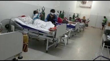 Mato Grosso enfrenta escassez de profissionais de saúde nas UTIs - Sul e Centro-Oeste são as regiões em que a pandemia mais avança no momento. Em Mato Grosso, a escassez de profissionais de saúde é o desafio principal para a abertura de novos leitos de UTI.