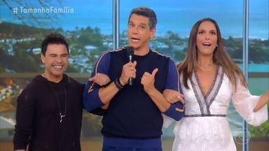 Programa de 12/07/2020 - Com Ivete Sangalo e Zezé Di Camargo, a emoção toma conta do 'Tamanho Família' deste domingo