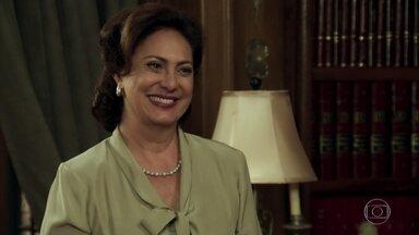 Anastácia agradece Eponina e Manuela por cuidarem de Candinho - A família de Cunegundes deixa a casa da milionária e volta para a fazenda