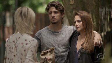 Lu pede desculpas a Lili por ter insultado o casal ao vê-la com Rafael - undefined