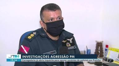 Corregedoria abre inquérito para apurar conduta de Policiais acusados de agressão - Duas pessoas teriam sido agredidas durante uma festa de aniversário, uma delas teve a perna fraturada.