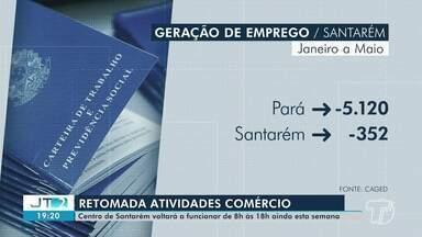 Centro comercial de Santarém deve voltar a funcionar esta semana, segundo decreto - Lojas devem voltar a abrir às 8h e fechar às 18h.
