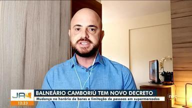 Balneário Camboriú tem novo decreto de combate ao Covid-19 - Balneário Camboriú tem novo decreto de combate ao Covid-19