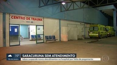 Hospital Adão Pereira Nunes, em Duque de Caxias, suspende novos atendimentos - O Iabas suspendeu novos atendimentos no hospital por falta de pagamento.