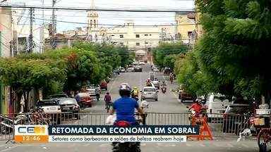 Abertura gradual de atividades econômicas em Sobral - Saiba mais no g1.com.br/ce