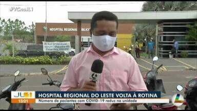 Hospital Regional de Paragominas volta a rotina de atendimentos - Hospital Regional de Paragominas volta a rotina de atendimentos