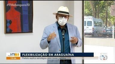 Prefeito de Araguaína fala de estratégias para novas medidas de flexibilização - Prefeito de Araguaína fala de estratégias para novas medidas de flexibilização