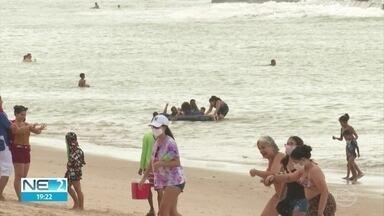 Saiba o que pode e o que não é permitido após liberação do banho de mar no Recife - Normas entram em vigor na quinta (16), feriado de Nossa Senhora do Carmo