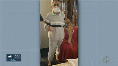 Covid-19: Casa de Saúde Vera Cruz, em Campinas, registra 200ª alta médica - Paciente, de 59 anos, é morador de Sumaré (SP) e estava internado desde o dia 28 de junho.