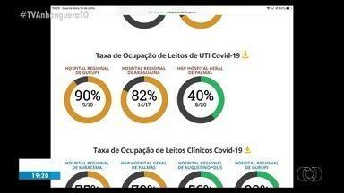 Veja a taxa de ocupação dos leitos no Tocantins - Veja a taxa de ocupação dos leitos no Tocantins