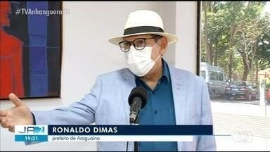 Prefeito de Araguaína diz que flexibilização no comercio do município é segura - Prefeito de Araguaína diz que flexibilização no comercio do município é segura