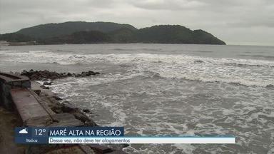 Cidades da Baixada Santista registram ressaca nesta quarta-feira - Apesar do mar agitado, não há previsão de alagamento.