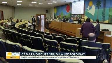 Câmara Municipal discute projeto de intervenção na Vila Leopoldina - Projeto urbano divide moradores da Zona Oeste de SP