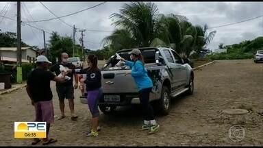 Moradores de Fernando de Noronha recebem doações de 15 toneladas de peixe - Ação solidária é realizada para ajudar a população da ilha na pandemia da Covid-19.