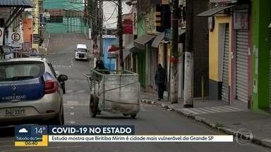 Biritiba Mirim é cidade com maior índice de vulnerabilidade na Grande SP - Estudo analisou 18 indicadores para fazer o ranking