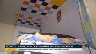Contaminação de coronavírus avança nas penitenciárias - Sindicato aponta 77 policias penais com Covid-19 no Paraná.