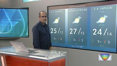 Confira previsão do tempo para esta sexta - Temperaturas seguem mais baixas.