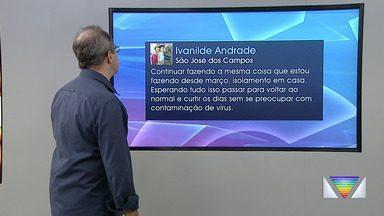 Confira participação dos internautas no Link Vanguarda - Público participa pelas redes sociais.