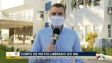 Sepultamento de PM morto após cair do helicóptero Águia será em Paraguaçu Paulista - Acidente foi na manhã desta quinta-feira (16), em Álvares Machado.