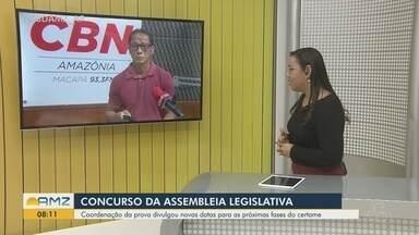 Destaque CBN Amazônia: novas fases do concurso da Assembleia Legislativa-AP serão em 2021 - Destaque CBN Amazônia: novas fases do concurso da Assembleia Legislativa do AP serão em 2021
